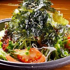 さっぱり韓国のりサラダ
