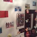 女性化粧室にはバリ島のポストカードが。