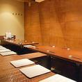 最大16名様用半個室。中人数の宴会にも多くご利用いただいております。
