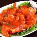 料理メニュー写真エビマヨ/エビチリ/エビと野菜の塩ソース炒め/麻婆エビ