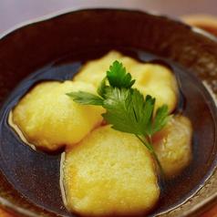 料理メニュー写真モッツァレラチーズの揚げだし