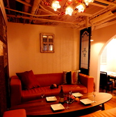 <個室>大人気ソファータイプの個室席は早めの予約がおすすめです!
