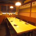 8名様のテーブル個室も大人気☆