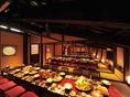 大宴会場として使用する場合、最大72名様までの個室利用が可能です。大事な一席をスタッフ一同しっかりと対応させて頂きます。