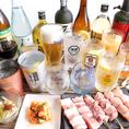 宴会のご予約受付中!お酒に合う料理満載の贅沢な飲み放題付きコースを3300円~ご用意しております♪