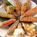 料理メニュー写真塩/タレ/ネギぽん/明太マヨ/タレわさび/梅しそ