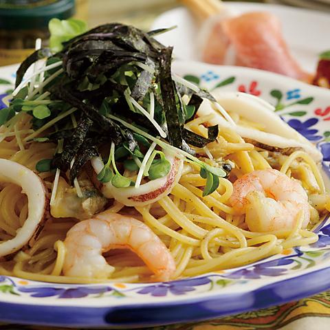 創業33年 絶対的人気のタパス風スパゲッティは780円!