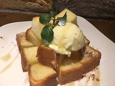 ハニートースト プレーン/キャラメルメープル