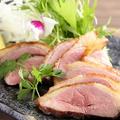 料理メニュー写真鴨ロースの塩焼き