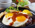 料理メニュー写真オリジナルハンバーグステーキ