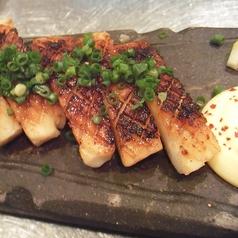 イカのバター醤油焼き