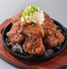 料理メニュー写真■げんこつステーキ(大満足の320グラム!)