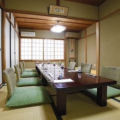 2階のお座敷個室。最大10名まで対応可能です。
