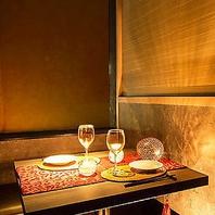 料理を引き立てる特別な空間