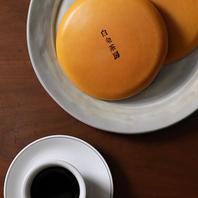 茶房オリジナルのクラシックパンケーキ
