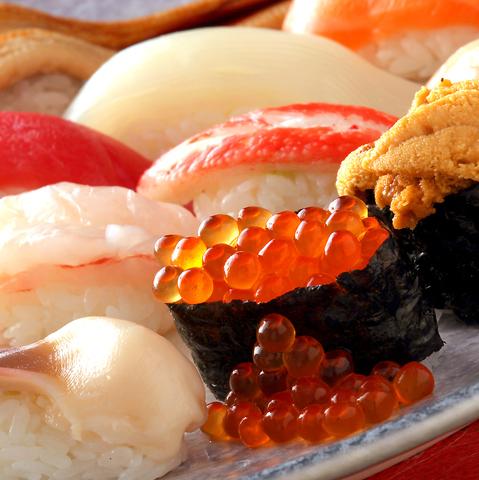 『函館を握る』の意気込みで毎日寿司と真剣勝負!!ウマイ寿司は函太郎へ!!