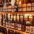 圧巻の焼酎&日本酒の数!!有名銘柄からマイナーな銘柄まで幅広く入荷!焼酎&日本酒を楽しむ会にピッタリのお店。日本酒初心者の方でも、通の方でも、みんなが満足できるラインナップ!今日の気分のお酒選びに迷ったらスタッフにお任せして下さい♪