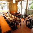 ◆明るくキレイな店内でごゆっくりとお食事できます◆