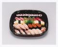 料理メニュー写真上盛り合せ寿司
