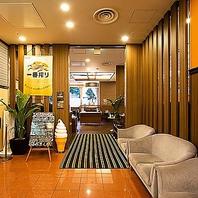 レストランオープン時は、ホテル側の入り口からご案内
