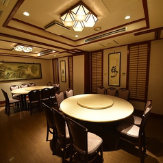 【4F貸切】各階のフロア貸しは御相談承ります!全60席で全て円卓席のフロアです♪(10名×6卓)