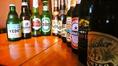 外国産ビール多数あり♪VEDETT、ハイネケン、ヒューガルデン等、外国産のビールを多数取り揃えております!