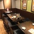 広々としたテーブル席★~やきとり酒場 とりいちず食堂 蕨西口駅前店前店~☆