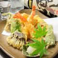 料理メニュー写真盛り合わせ天ぷら