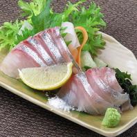三崎出身の店主がこだわる三崎の魚貝類