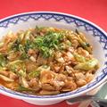 料理メニュー写真豚キャベツ丼(ピリ辛)