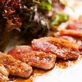 料理メニュー写真鴨ロースのタタキ