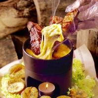 今話題!チーズカルビ!肉バルならではの絶品料理!