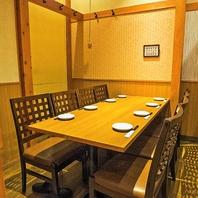 【京成曳舟店は個室完備!】8名様用の完全個室を2部屋♪
