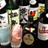 日本酒を常時10種類ほどご用意!