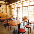 テラス・カウンター・テーブル席と多数ご用意♪貸切のご宴会も可能です!