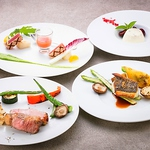 【LUNCH】季節のランチコース3500円☆季節の愛知食材を存分にお楽しみ頂けるランチフルコースです。