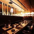 ◆6~14名様個室◆おしゃれな空間で上質なご宴会を! 大人数でのご宴会も当店にお任せくださいませ!当店のコースは種類豊富にご用意しておりますので、ご宴会の幹事様にも大好評でございます!