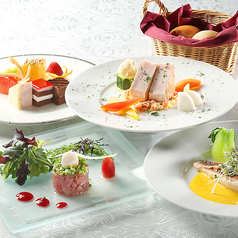 Sunset Dinner course ¥6,000