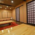 【2階】個室をつなげて最大35名様の宴会可能