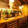 【こだわりの日本酒や焼酎をご用意】厳選された新鮮なお料理だけではなくお食事に合うこだわりの日本酒や焼酎も取り揃えております♪全国各地のうまい地酒、焼酎、その他果実酒、全部で100種以上をご用意。ゆっくりと寛ぎながら、うまい酒をご堪能下さい!