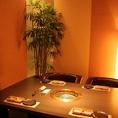人気の個室席もご用意。他者との接触を避け安心してお楽しみ頂けます。