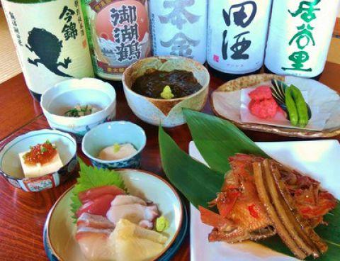 旬の和食★全8品3000円コース ※プラス2000円で飲み放題も付けられます♪