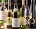ワインと牡蠣でどうぞ!生牡蠣にはワイン!という方にも安心!20種以上のワインを取り揃えてお待ちしております!