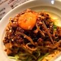 料理メニュー写真汁なし担担麺