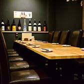 6名のテーブル席