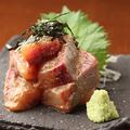 料理メニュー写真鮮魚を使用したゴマかんぱち♪