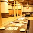 各種ご宴会・パーティー・学生様のイベントなどにも使いやすいお席です!様々なシーンでご活用くださいませ。