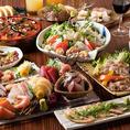 有楽町での各種宴会におすすめの宴会コースを多数ご用意!さらに、期間限定で今だけ全コース1000円引き実施中!宴会コースは2H飲み放題付2980円~各種ご用意しております。毎朝仕入れる新鮮な海の幸や契約農家直送の旬野菜を使った自慢の創作料理をお楽しみ頂けます。飲み会や宴会、接待、歓送迎会にぜひご利用ください。