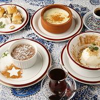 トルコのデザート各種!