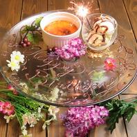 【誕生日・記念日・サプライズ】にデザートプレート♪